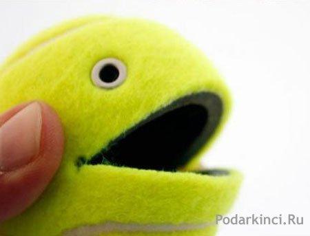 Сувенир из теннисного мяча