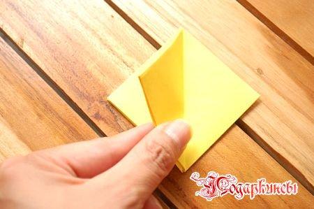 поворачиваем 1 треугольник направо