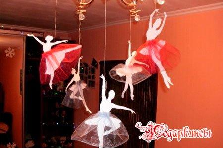 балерины в пачках из фатина