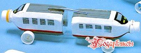 поделка экспресс-поезда