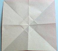 разворачиваем - образовался квадрат в центре