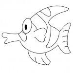 рыбка с выпученными глазами, понадобятся пуговки большего размера для этих глаз