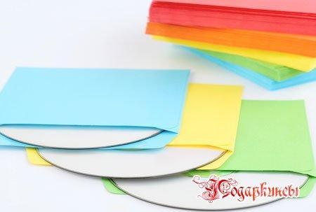 квадратные конвертики