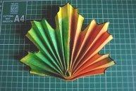 материалы для изготовления простого клинового листа из бумаги