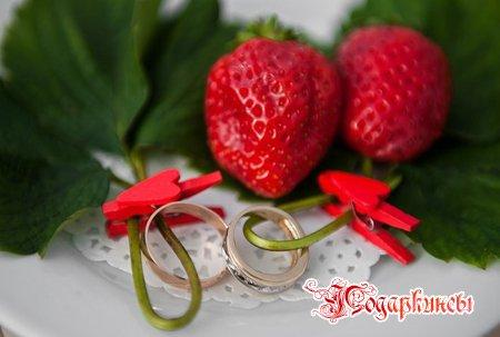 Клубничная свадьба - годовщина 33 года совместной жизни