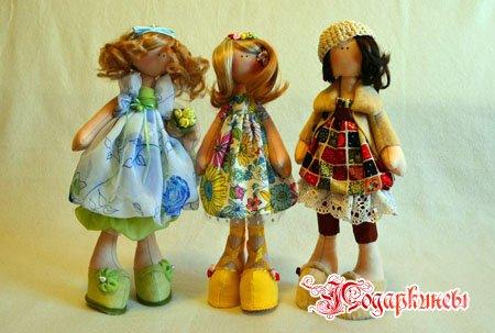 Креповые куклы